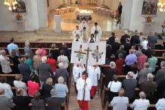 Goldenes Priesterjubiläum von Pater Fritz am 22.07.2018 in Frittlingen